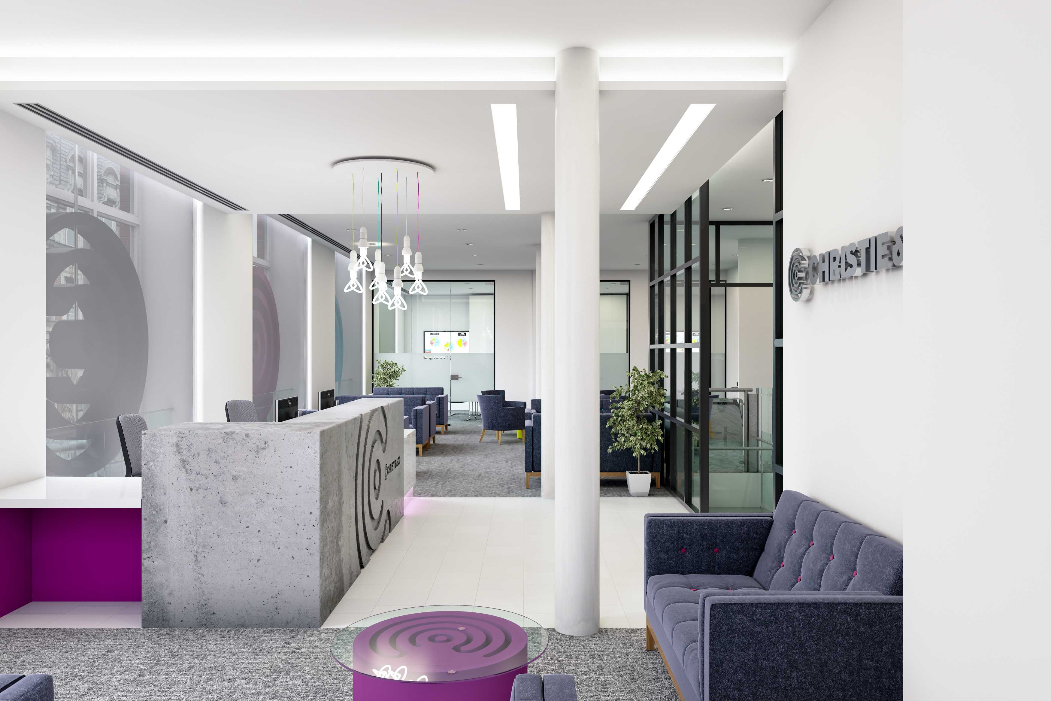 Great examples of bespoke office interiors in London