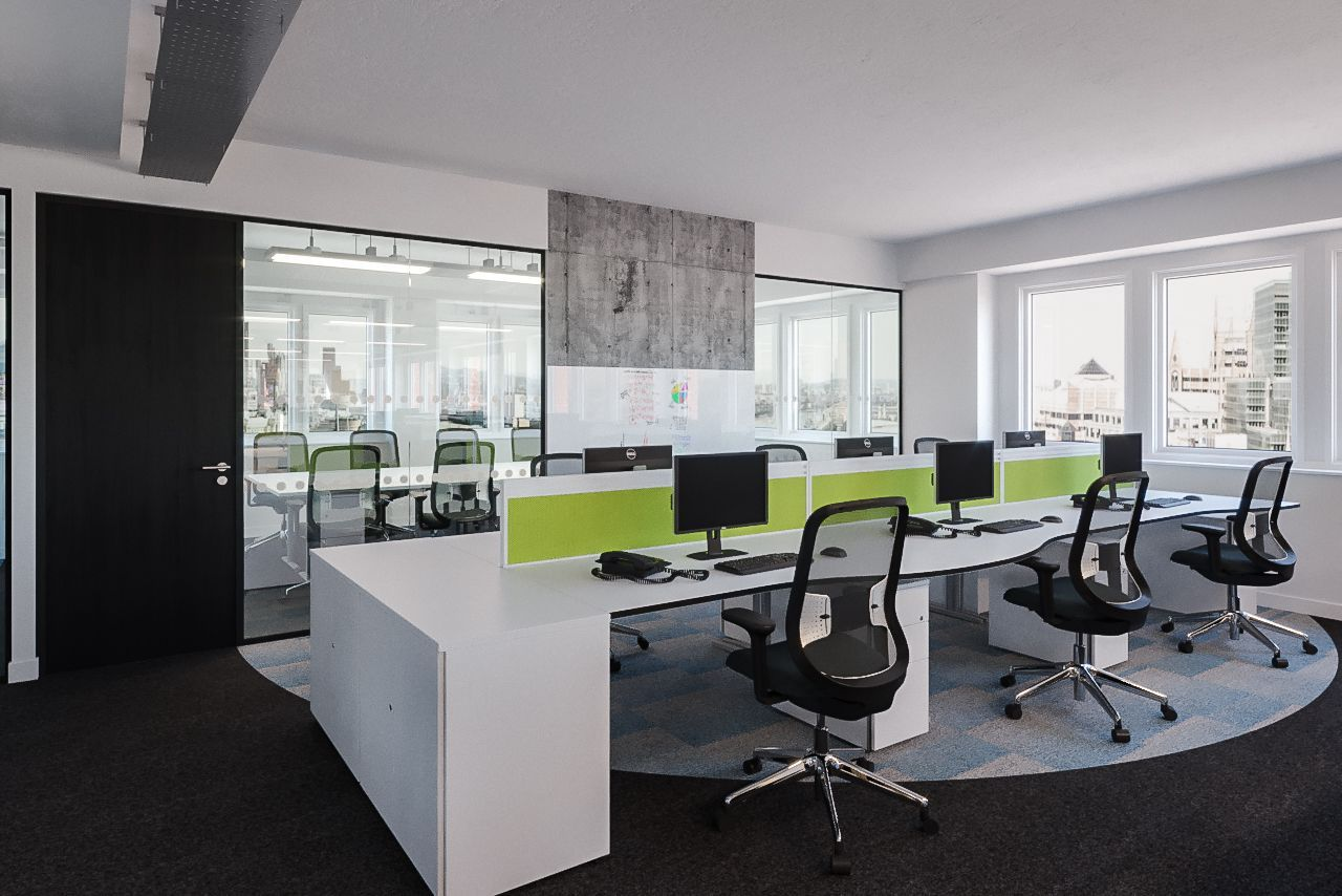 It Office Design. An Office Fit Out In Bracknell: Who Are Buckingham Schenk?