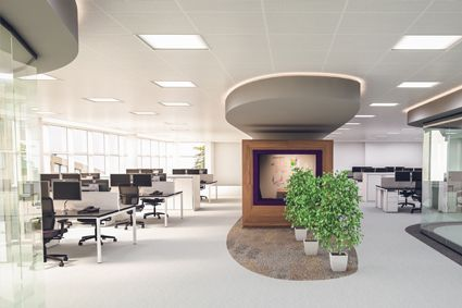 What key changes can an office design company make to the design of my workplace?
