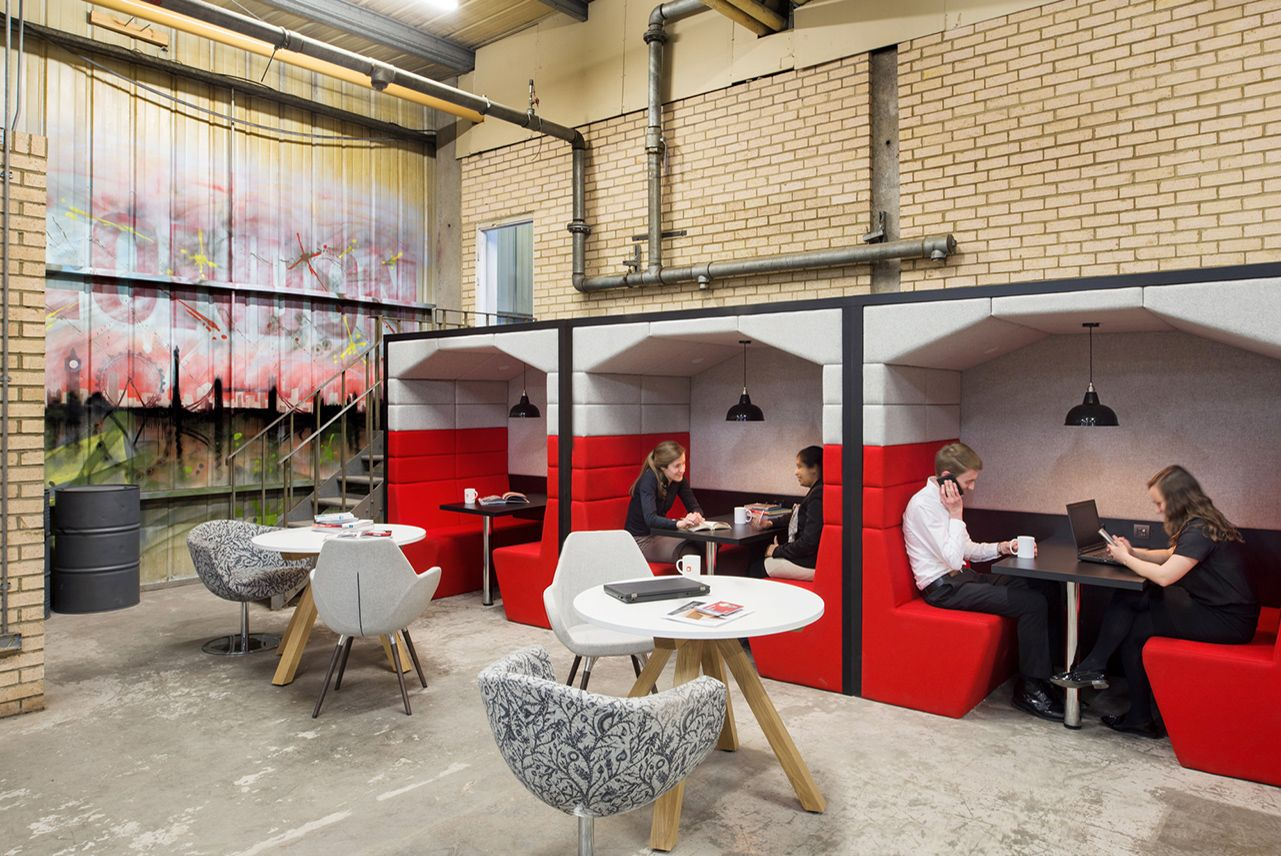 Making an office design in London 'feel like home'