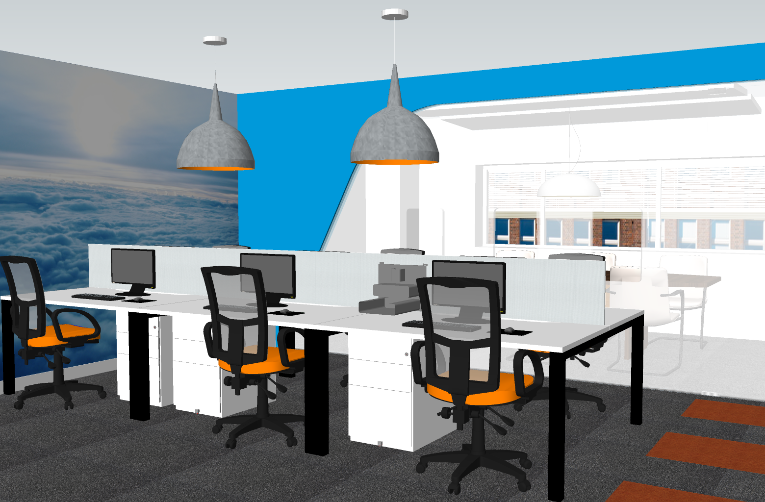 Office Design In Surrey: Global One Media