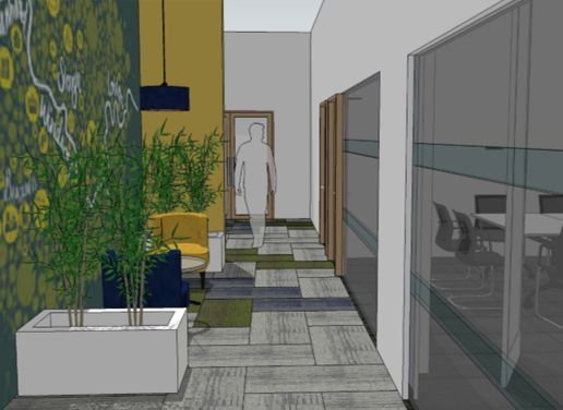 A new project for our office fitters in slough oaktree for Office fitters