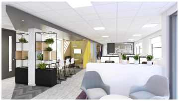 What are the advantages of professional office design services?