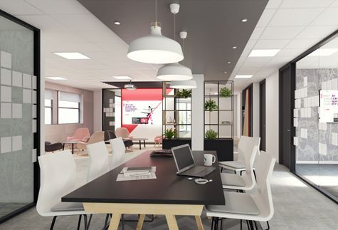 Using empty space to create an effective, modern office refurbishment in Guildford