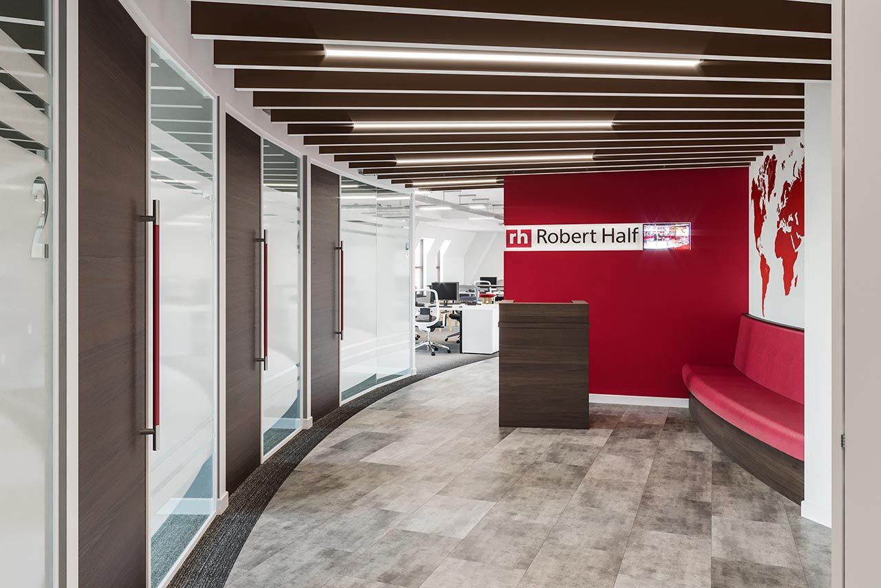 Creating A New Office Design In Bristol For Robert Half International