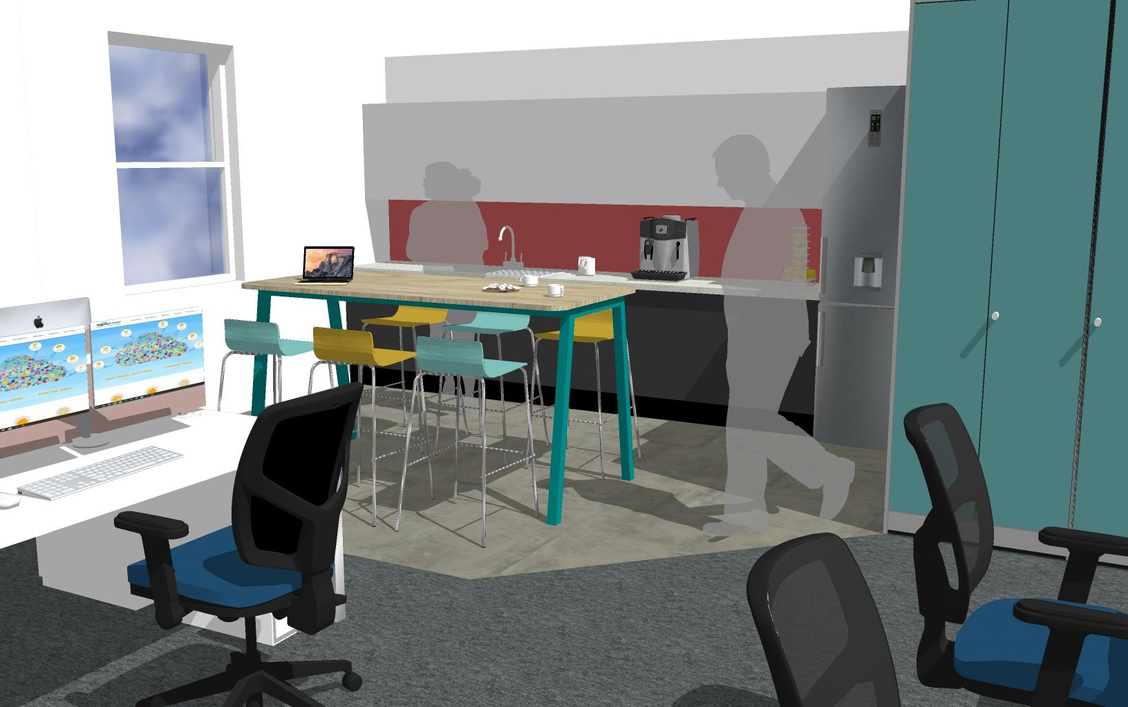 Creating a modern office design for TDM Group in Staines