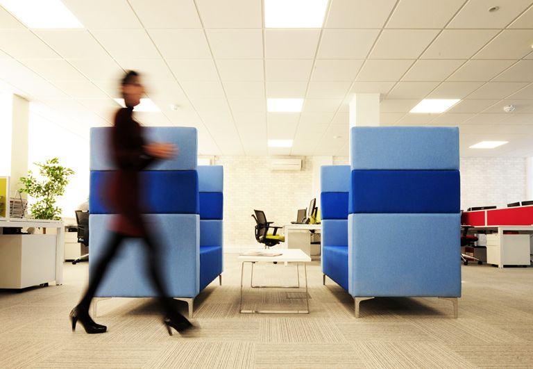 Creating positivity at work: How office interior design can help