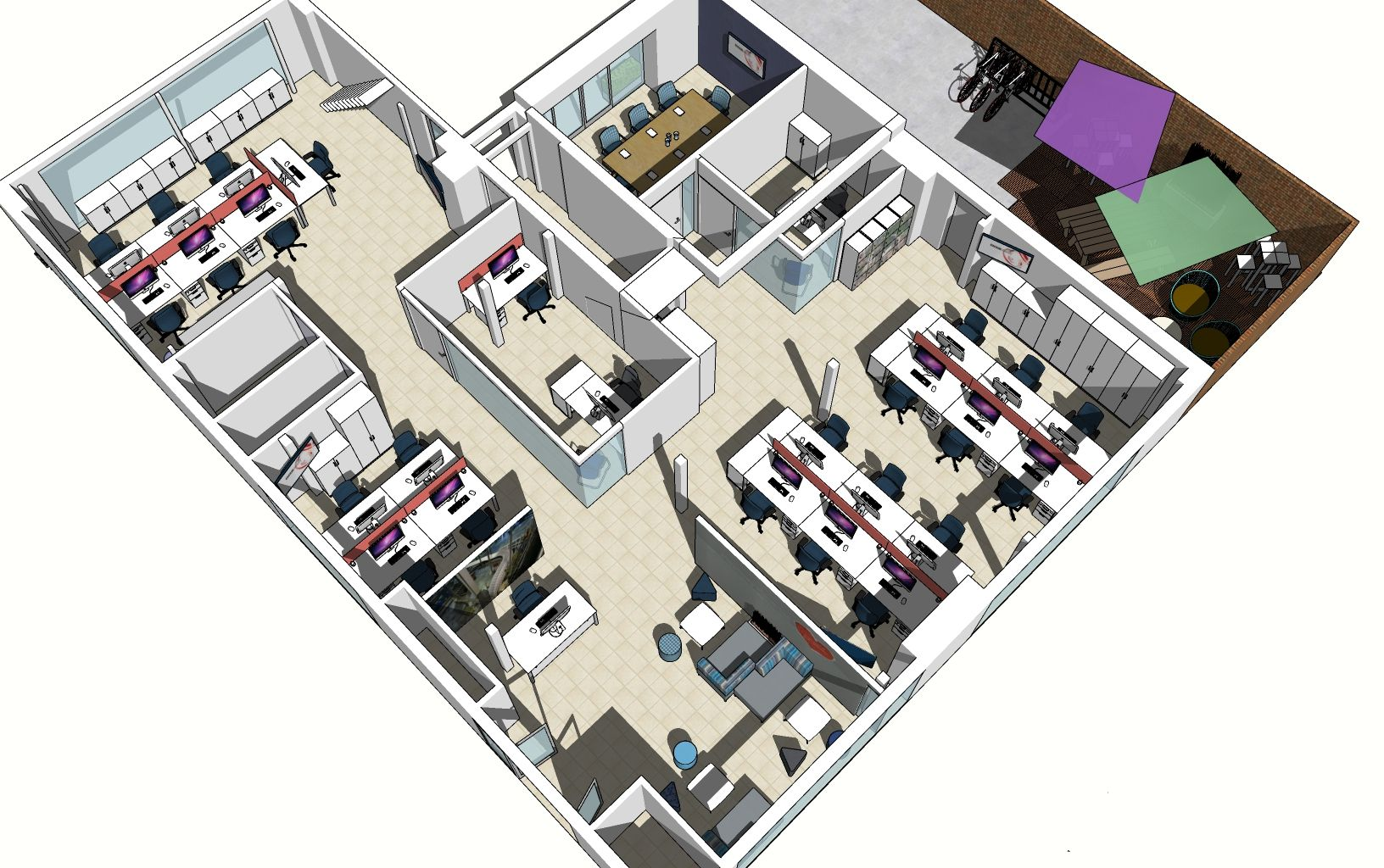 The benefits of downsizing, as shown by our office design for Newbury Weekly News