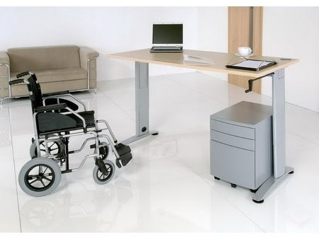 Disabled friendly desk options