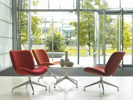 reception comfort cusion chairs