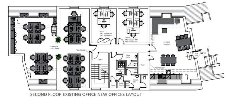 How we're creating additional space as part of PayByPhone's new office design in Hertfordshire